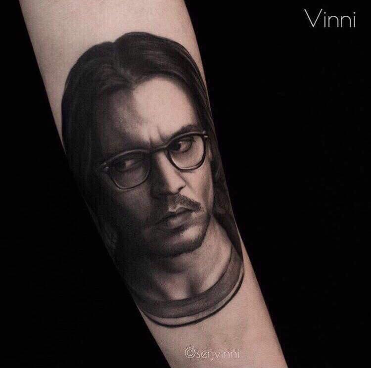 Portrait-tattoo